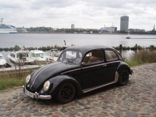 VW Kafer Black Mama 55, 1955