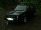 VW Golf melnis, 1989