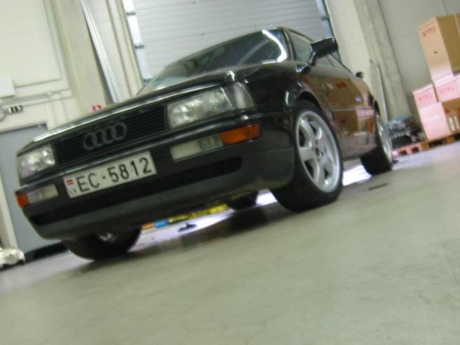 Audi QUATTRO coupe, 1991