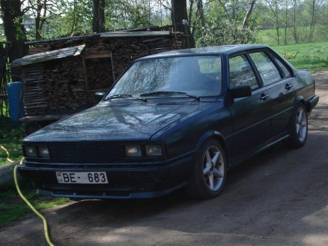 Audi 80 Āfrika, 1982