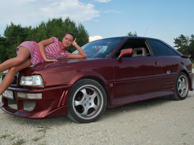 Audi Coupe Mazulīte, 1991