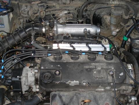 Honda Hetčbeks, Ieplūdes kolektora maiņa