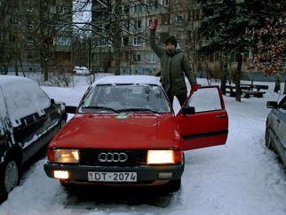 Audi Laimiņš , 1986