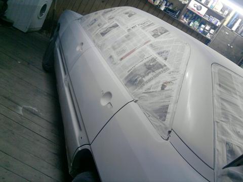 Audi S line, Pārkrāsošana