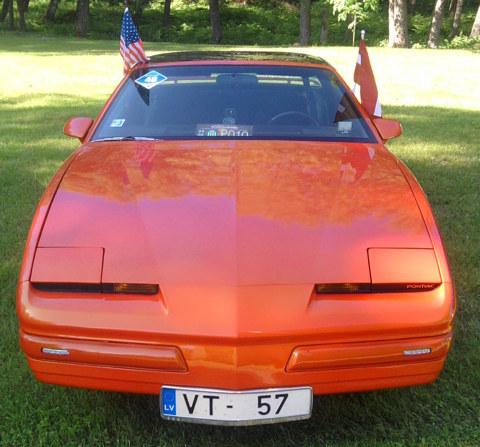 "Pontiac Firebird , US Cars salidojums ""Saulkrasti 2010"""