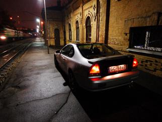 Honda Prelude BlackSilver, 1996