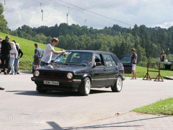 VW Golf mkII, 1991