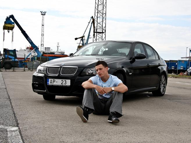BMW 325 M-Sport, 2007