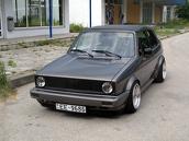 VW Golf MK1 Cabrio, 1990