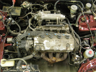 Honda 1.5 D15b7 , 1991