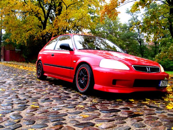 Honda Civic EJ9 1.4i, 1997
