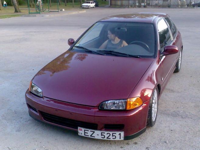 Honda Civic 1.5 D15b7, 1991