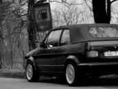 VW Golf Cabrio, 1992