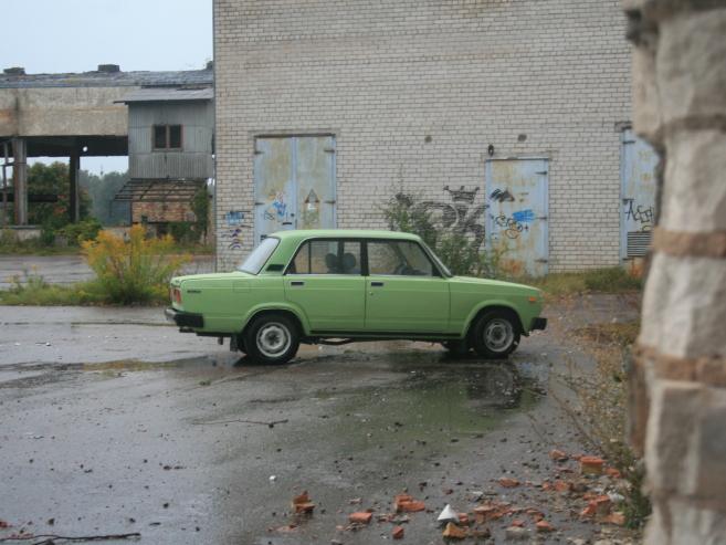 VAZ 2105 zaļš un skaļš, 1981