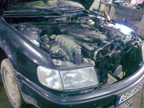 Audi C4, Siksnas