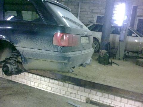 Audi C4, Rokas bremze