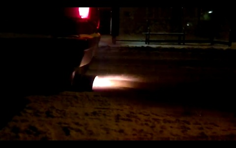 Audi 200 2.1 T, Šaujam uguņus