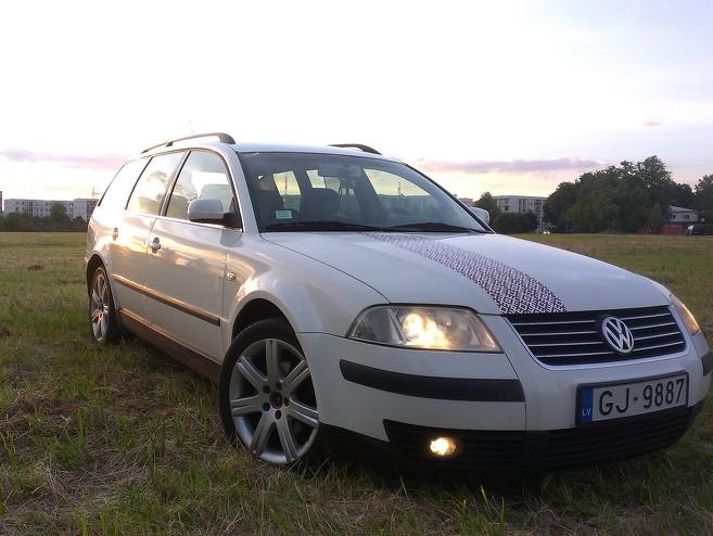 VW Passat LV Patriots, 2001