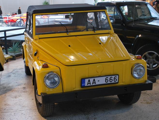 VW 181 KUBELWAGEN, 1976