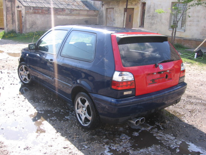 VW Golf Begimots, 1996