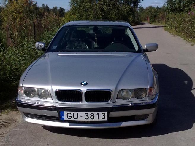 BMW 740 D pelēcīts, 2000