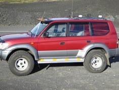 Toyota Land Cruiser visurgajejs, 1999