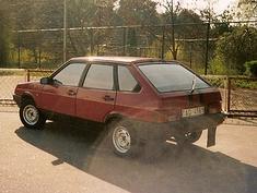 VAZ 2109 Devjatka, 1989