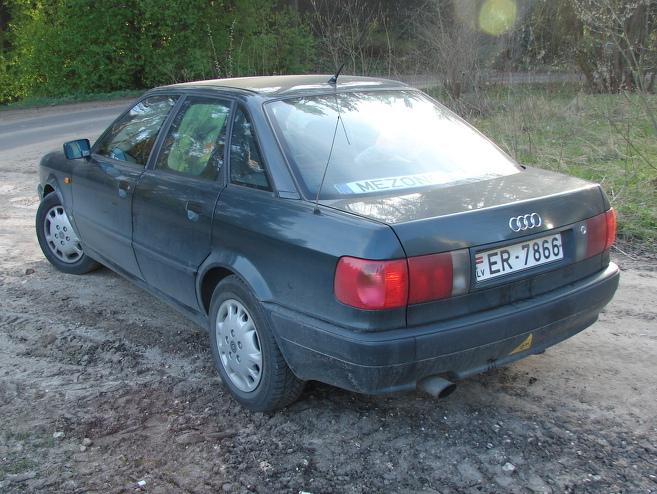 Audi 80 Auģiks, 1991