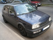 VW Golf mk3 VR6, 1992