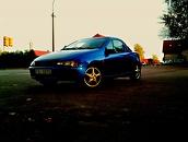 Opel Tigra 555 subaru blue, 1995