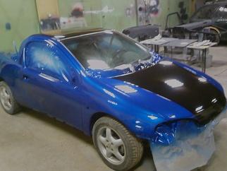 Opel 555 subaru blue , 1995