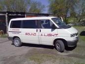 VW T4 Caravelle SKAŅA UN GAISMA, 1995