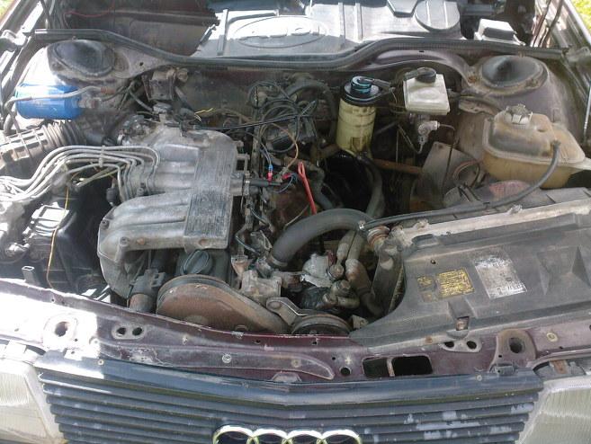 Audi 100 devils, 1988