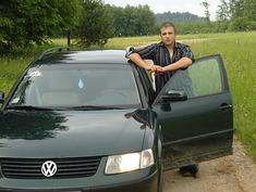 VW Passat B5 Green Monster, 1999