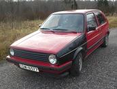 VW Golf mk2, 1988