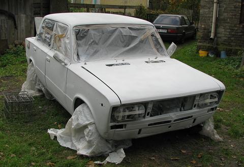 VAZ ar 1.5L dzinēju, Rūsas likvidēšana un pārkrāsošana