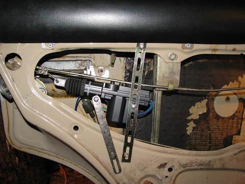 VAZ ar 1.5L dzinēju, Signalizācījas un centrālās slēdzenes uzstādīšana
