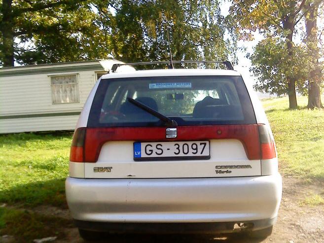 Seat Cordoba Vario - darba auto, 1998