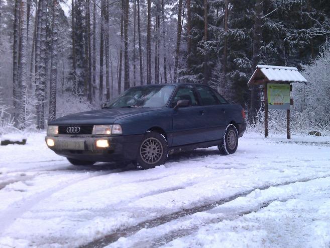 Audi 80 Bērīts, 1987