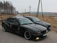 BMW 328 velns ir melns, 1996