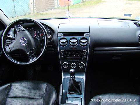 Mazda , New MAzda 6 Vidējā konsule