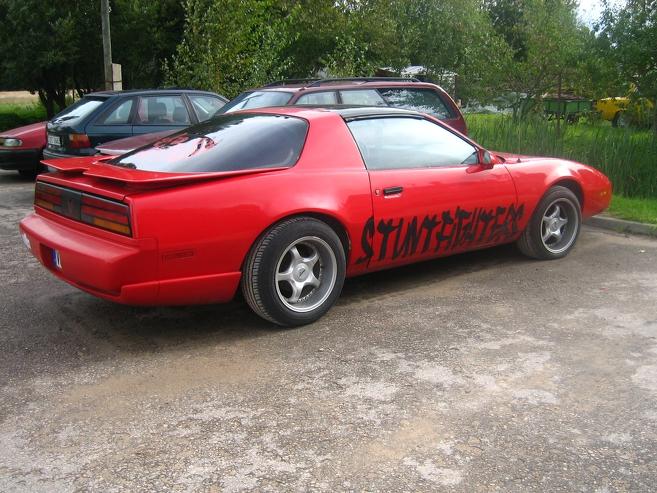 Pontiac Firebird man patīk, 1990