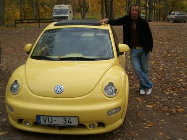 VW New Beetle tuning, 2003