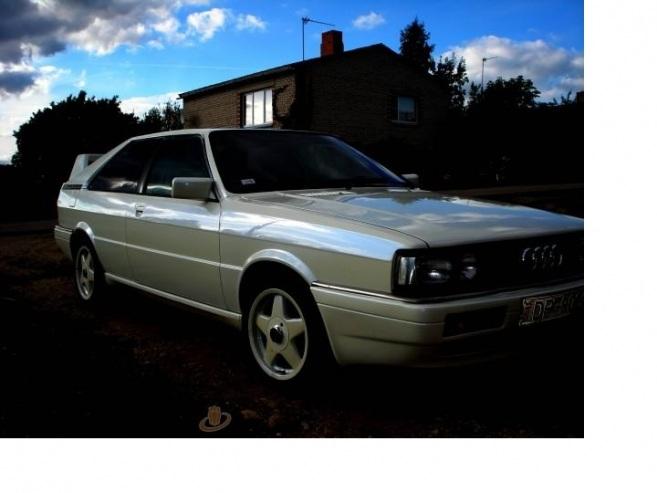 Audi Coupe kupis, 1986