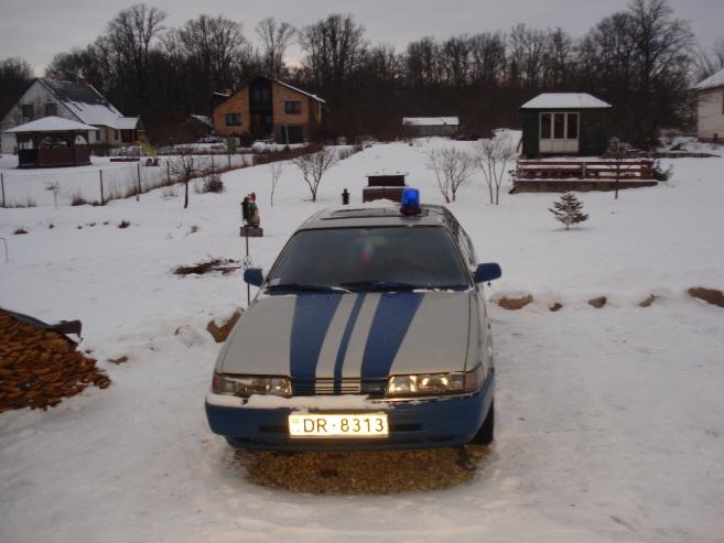 Mazda 626 GLX, 1991