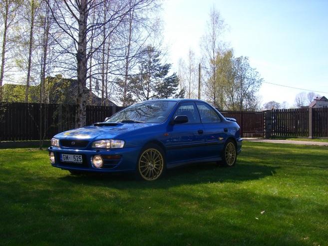 Subaru Impreza Turbo, 1998