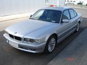 BMW 730 sudraba bulta, 2000