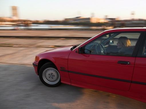 BMW 316 Maziņā - sarkanā, 1995