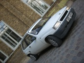 Opel Corsa baltais gulbits, 1992