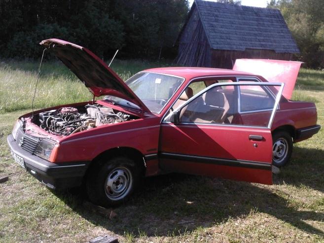 Opel Ascona C, 1983